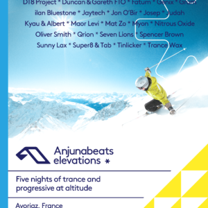 Anjunabeats Elevations at Avoriaz, France on 28th of March to 3rd of April 2020