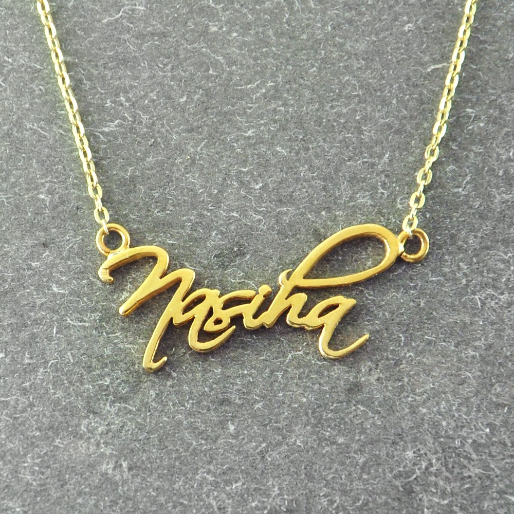 Personalised Cursive Name Necklace Regium