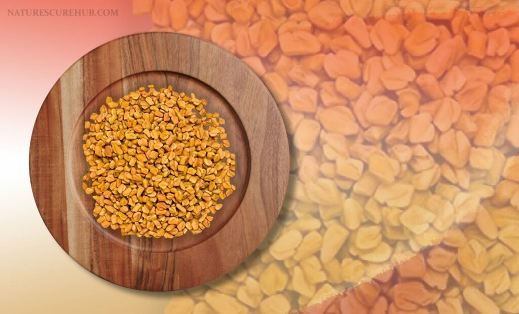 Fenugreek seeds pack for hair