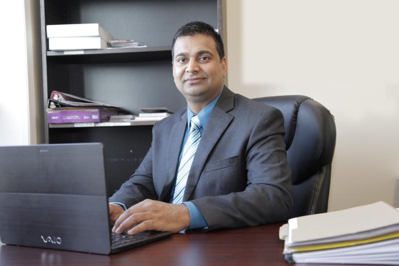 Sunny Kalsi In Office