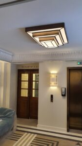 Bespoke Reception Light with Emergency and Presence Detection
