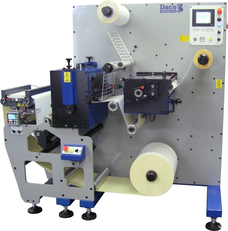 Troqueladoras Rotativas – Producción de Etiquetas Sencillas