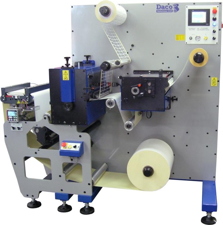 Cortadoras de moldes rotativas – produção de etiquetas simples