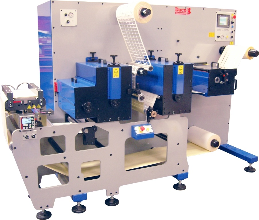 Daco D350 Rotary Die Cutter - 2 rotary die stations
