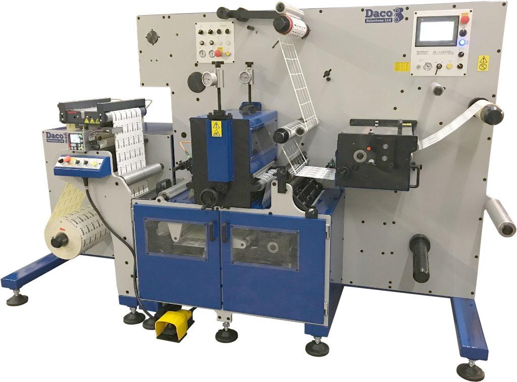 Daco DF350SRD digital label finishing