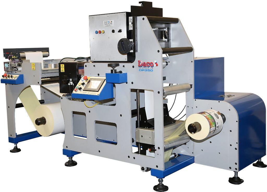 Daco DP350 Digitale Inkjet-Etikettendruckmaschine