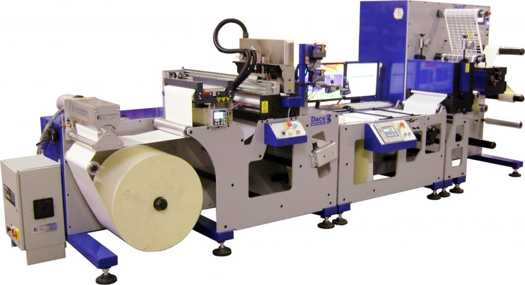 Daco DP350 inkjet platform with domino k600i