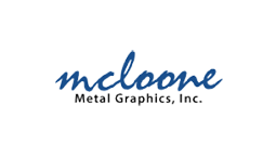 McLoone Metal Graphics - metal and plastic nameplates, ID Plates, overlays and labels for commercial and industrial applications