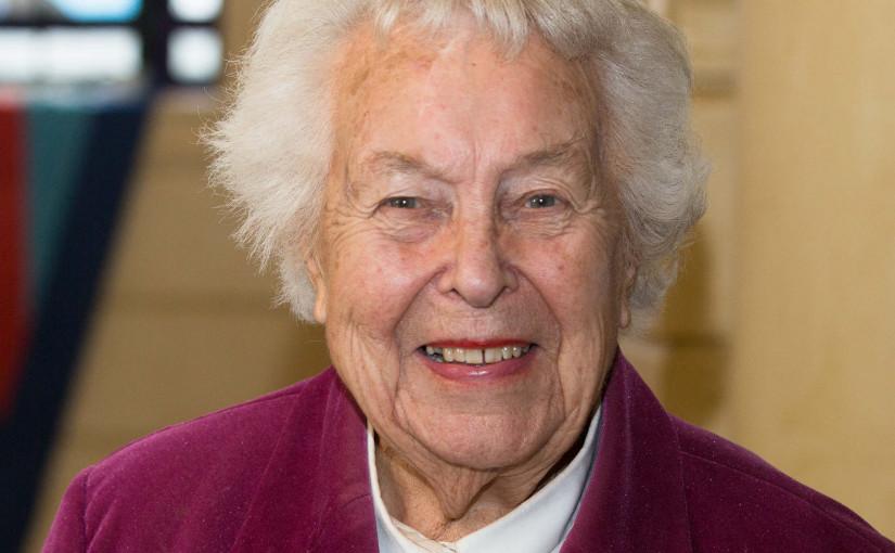 Eileen Younghusband (4 July 1921 – 2 September 2016)