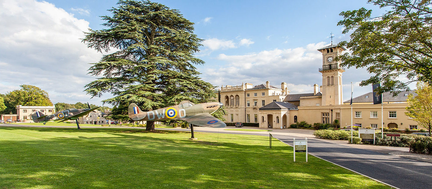 Photograph of the Spitfires at Bentley Priory Museum