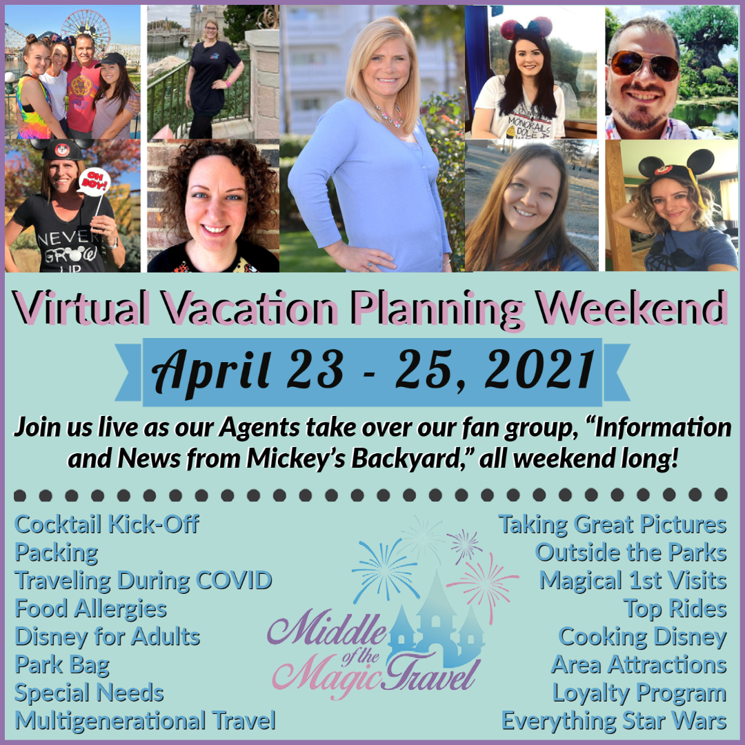 Announcing Our Virtual Vacation Planning Weekend!