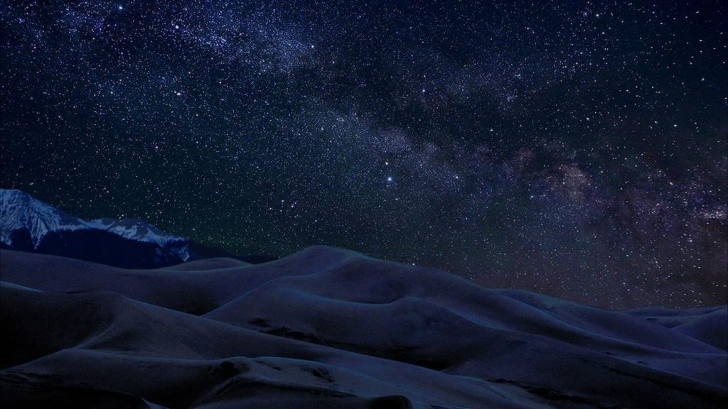 Desert Night sky