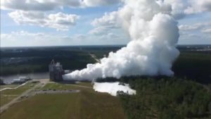 NASA Rocket Engine Cloud