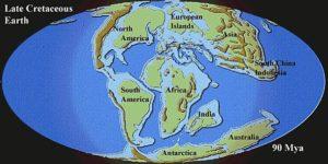 Cretaceous Map