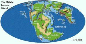 Jurassic Map