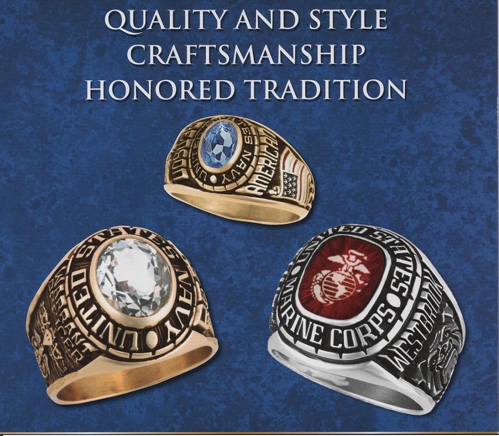 navy rings of pride