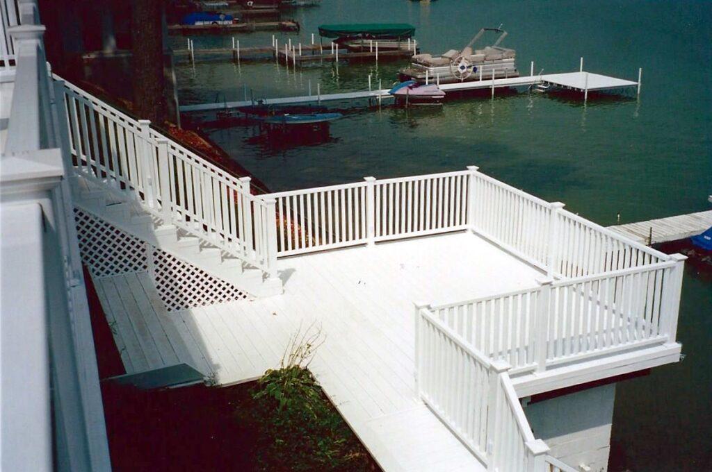 Deck Installation Work In Michigan