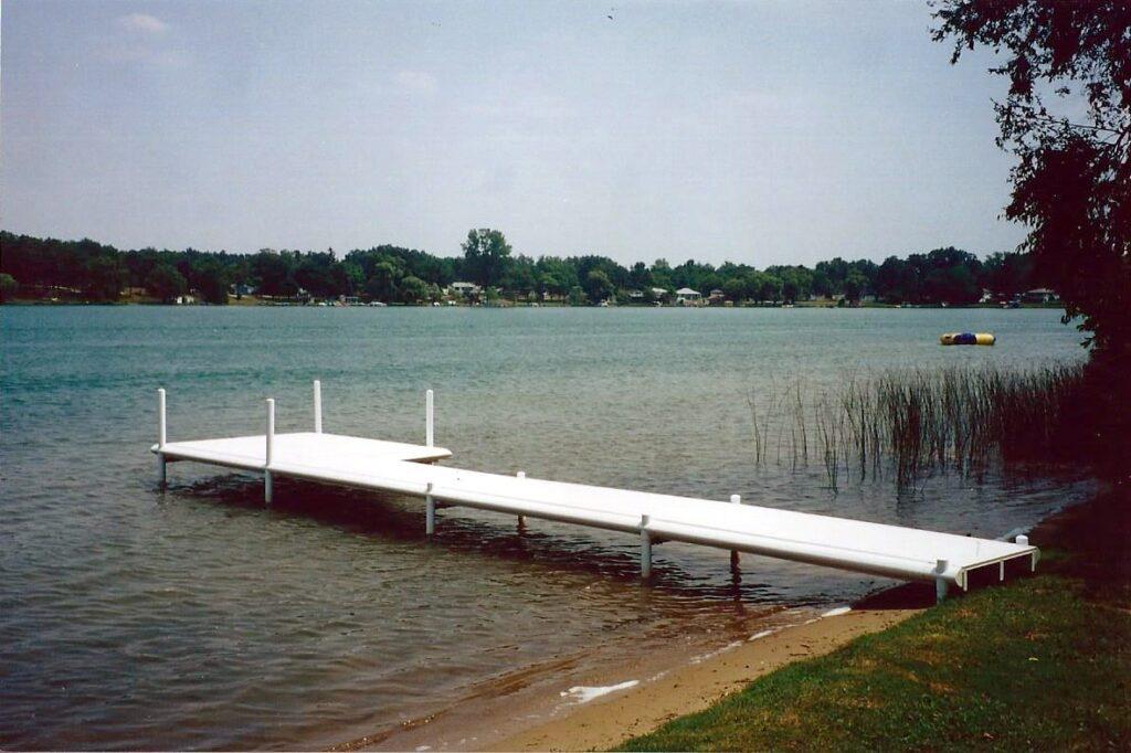 Dock Installation Work In Michigan