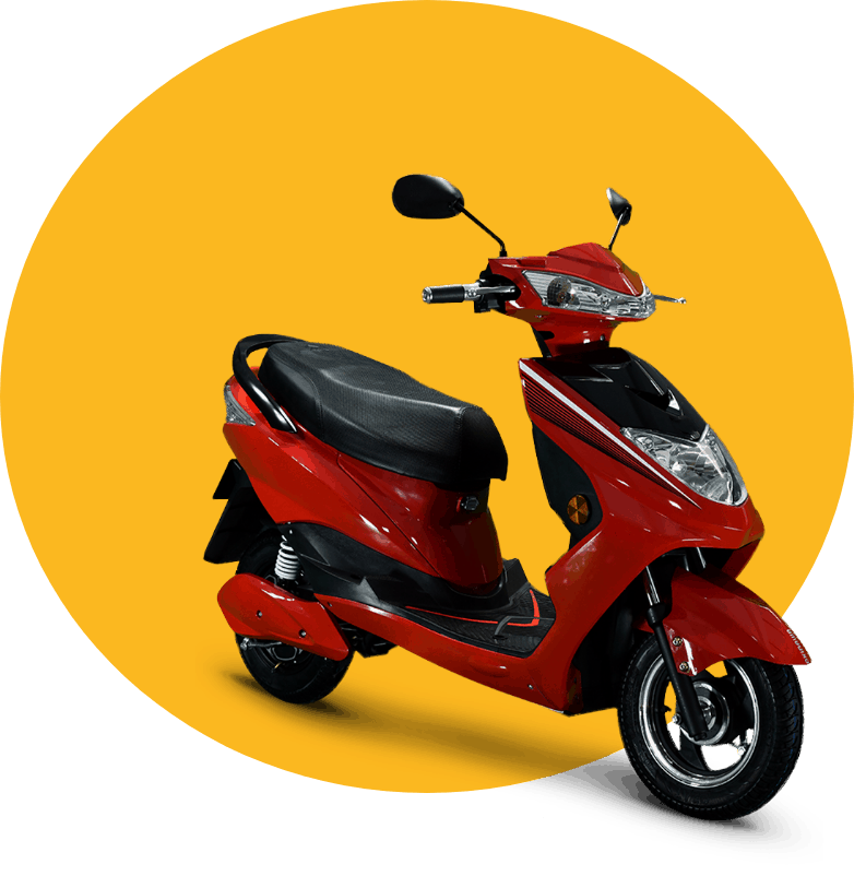 Ghoom electric scooter for rentals