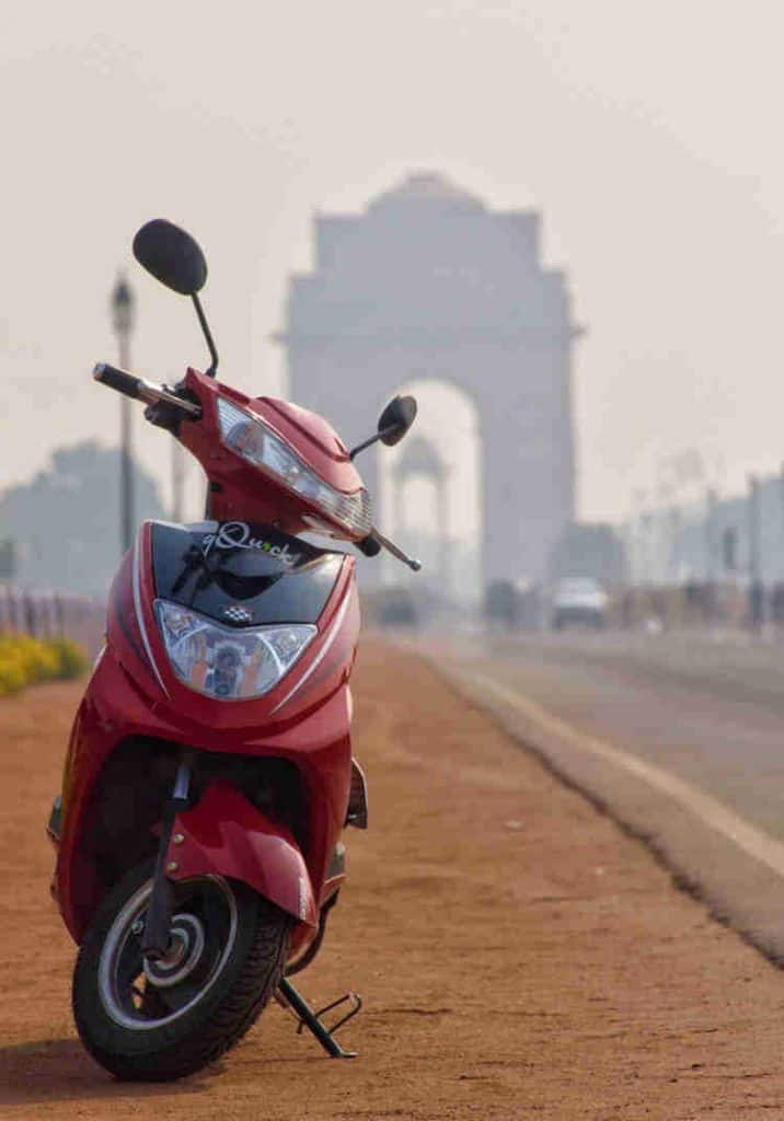Ghoom electric scooter for rent in delhi