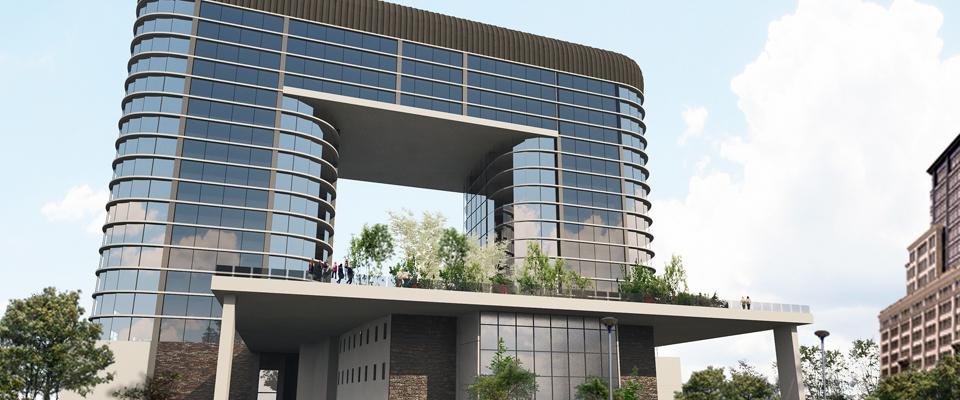 New office complex - Arcadia