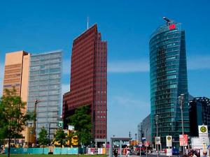 Dia 10  'wow' architecture Potsdamer Platz