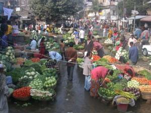 Dia 11  Urban market in India