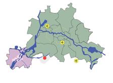 Dia 6 Location of regenerated Teltow