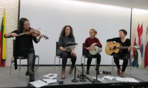 3Pakaw, female folk group, singing south east European melodies