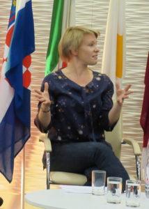 5Seljia Avaha, Finnish writer, winner of European Prize for Literature 2016, photo Judith Ryser