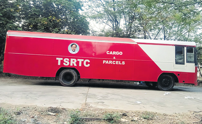 TSRTC Starts Cargo Parcels Services to help farmers and transport grain