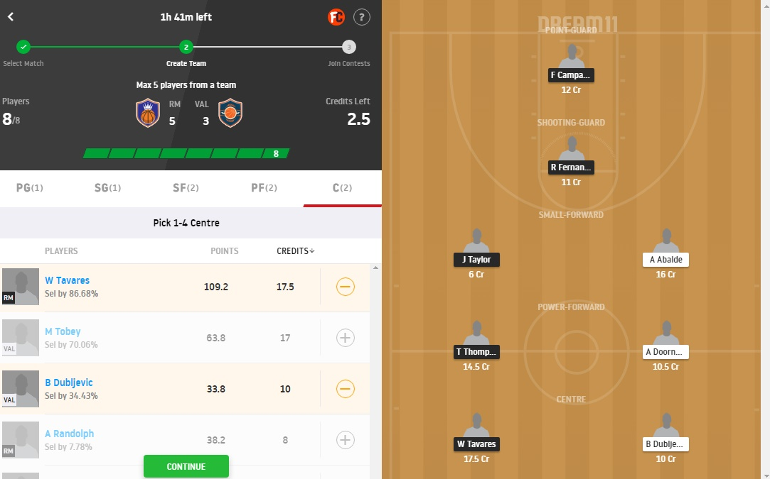 RM vs VAL Dream11 Prediction
