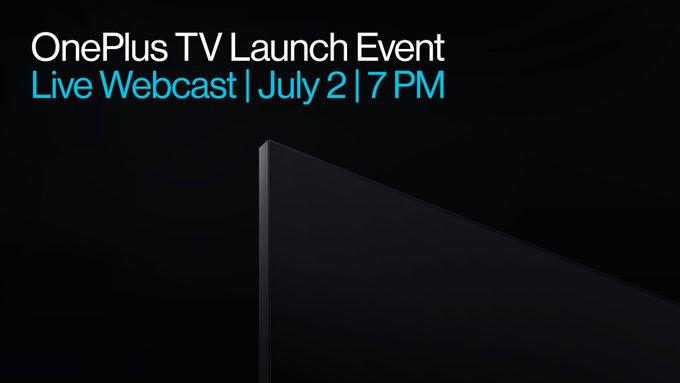 OnePlus TV Smart TV Launch Event Live Webcast today 7.00 PM