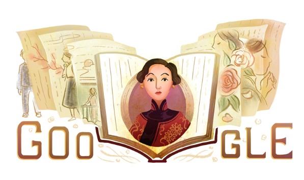 Google Doodle Celebrates American Essayist Eileen Chang 100th Birthday
