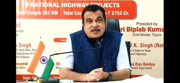 9 NH Projects in Tripura