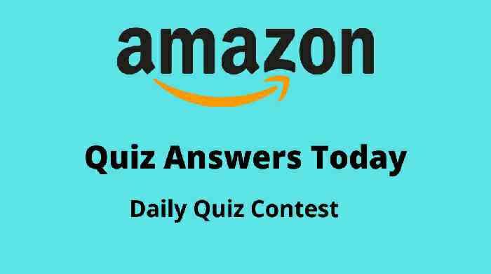 Amazon Quiz 6 October 2020 Answers