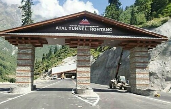 Modi Inaugurate Atal Tunnel