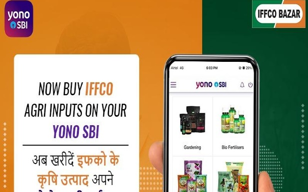 IFFCO Bazar Partners with SBI YONO Krishi App
