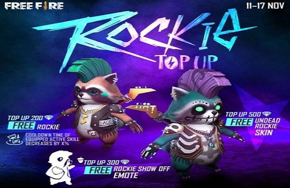 ROCKIE Top UP