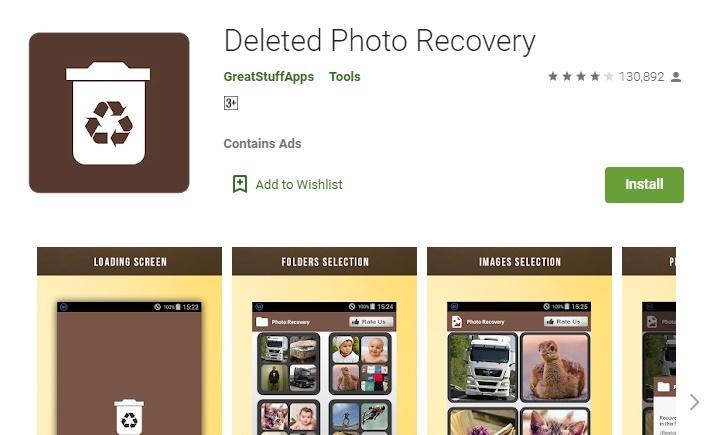 Technewztop Delete Photo Recovery App