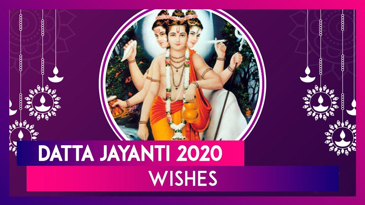 Datta Jayanti Chya Hardik Shubhechha 2020