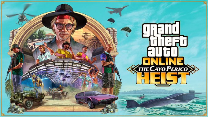 GTA V Online Cayo Perico Heist Countdown