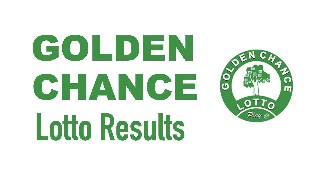 Golden Chance Lotto Result Today