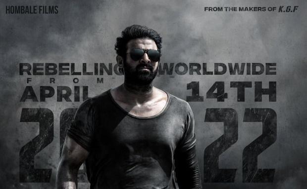 Prabhas Salaar Arrives In Next Year April 2022. Director revel the release date today