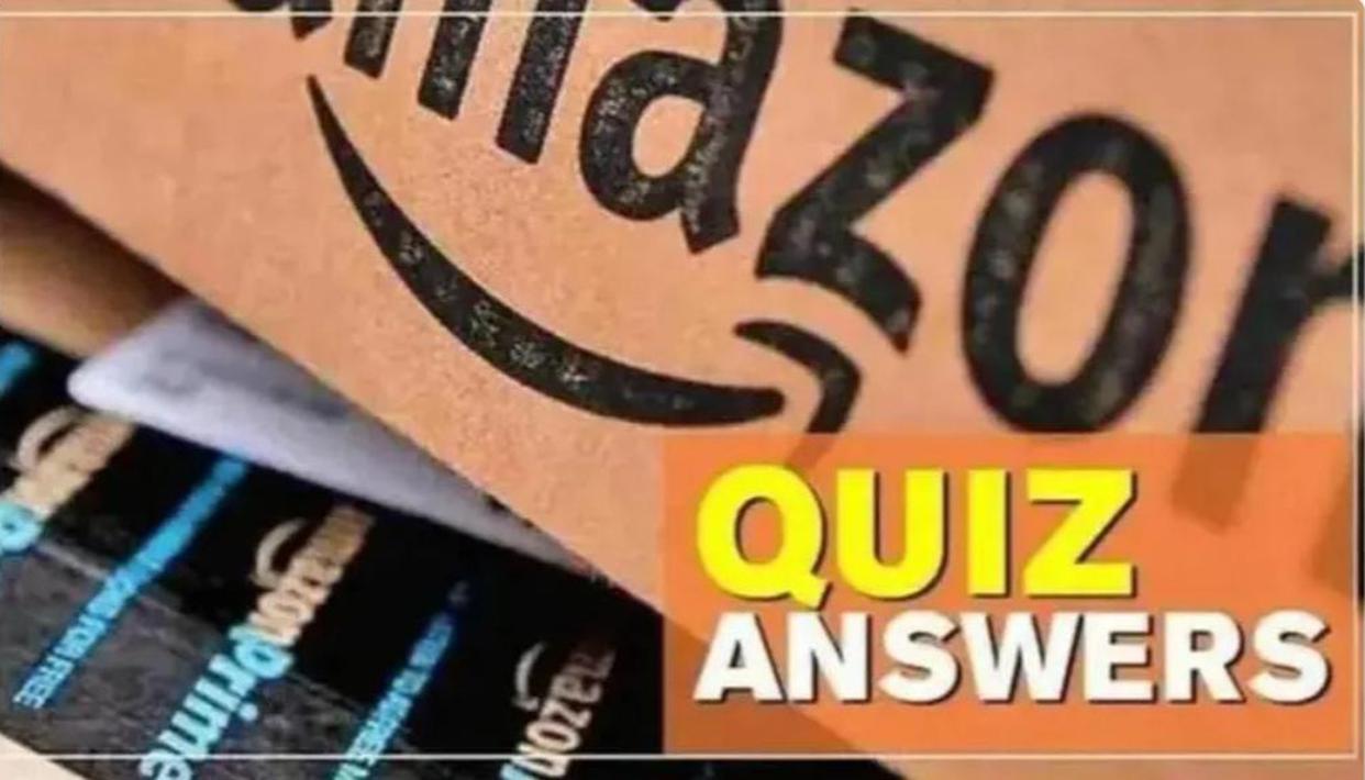Amazon Quiz 28th March 2021