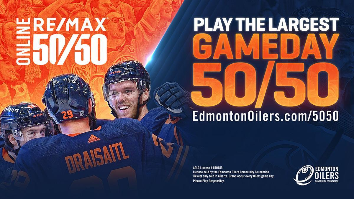 Oilers 50/50 Winning Numbers For March 29th 2021