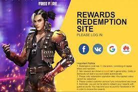 Free Fire Redeem Code 2 April 2021