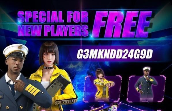 Free Fire Redeem Code 20 April 2021