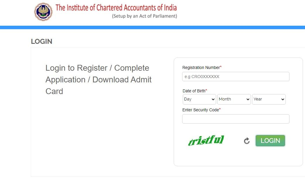 ICAI PT Test Admit Card 2021