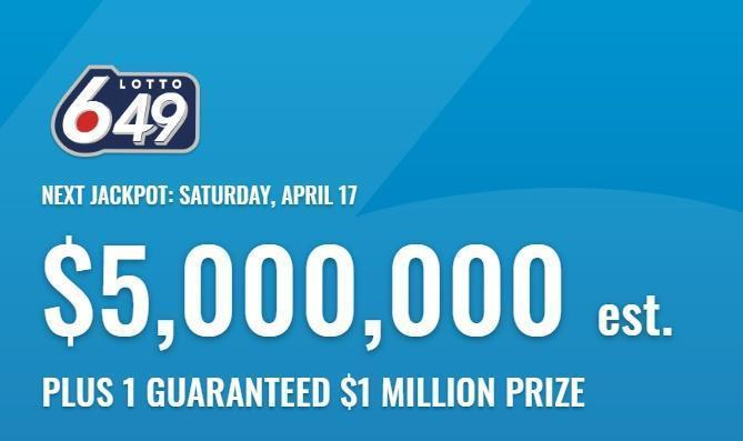 Lotto 649 Winning Numbers For April 17 2021